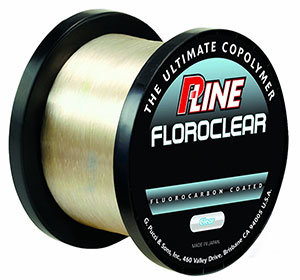 P-Line Floroclear Bulk Spool Clear Fishing Line