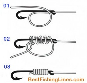 How to tie Snell Knot