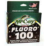 McCoy Fishing Fluoro 100 Fluorocarbon Fishing Line
